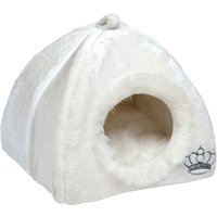 Royal Pet Den - White - 45 x 45 x 45 cm (L x W x H)