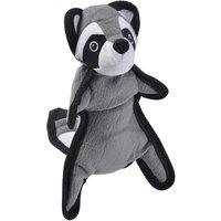 Real Tuff Raccoon Dog Toy - approx. 40 x 14 x 9 cm (L x W x H)