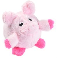 Piggy Pig Gum Massager Dog Toy - Diameter approx. 8cm