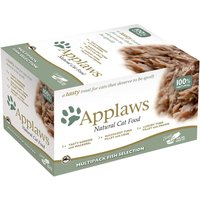 Applaws Cat Pot Mixed Multipack 60g - Fish Selection 8 x 60g