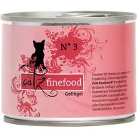 Catz Finefood Can Saver Pack 12 x 200g - Poultry & Prawns