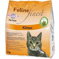 Porta 21 Feline Finest Kitten - Economy Pack: 2 x 2kg