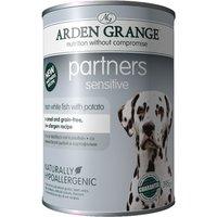 Arden Grange Partners Sensitive - White Fish with Potato - 6 x 395g