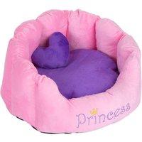 Princess Snuggle Bed - Pink - 45 x 40 x 30 cm (L x W x H)