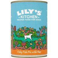 Lilys Kitchen Fishy Fish Pie with Peas for Dogs - Saver Pack: 24 x 400g