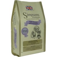 Simpsons Premium Dry Dog Food Economy Packs 2 x 12kg - Sensitive Puppy Salmon & Potato