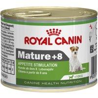 Royal Canin Wet Mini Mature 8+ - Appetite Stimulation - Saver Pack: 24 x 195g