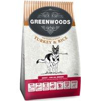 Greenwoods Dry Dog Food Economy Packs 2 x 12kg - Adult Turkey & Rice