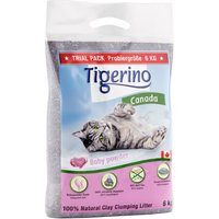 Tigerino Canada Cat Litter Trial Pack Baby Powder - 6kg