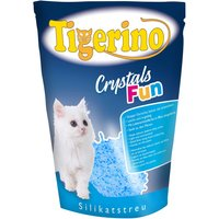 Tigerino Crystals Fun coloured cat litter - Economy Pack: 3 x 5 litre Pink
