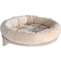 Natural Paradise Wall Mounted Cat Bed - Cream: Diameter 48cm