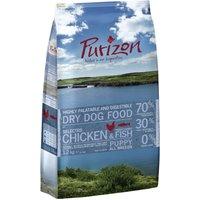 Purizon Puppy, poulet & poisson pour chiot - lot % : 2 x 12 kg
