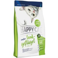 Happy Cat Sensitive Adult Poultry Dry Food - Economy Pack: 2 x 4kg