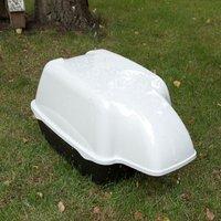 Ferplast Outdoor Cat Litter Tray - 74 x 43 x 41.5 cm (L x W x H)