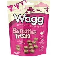 Wagg Sensitive Dog Treats - Saver Pack: 3 x 125g