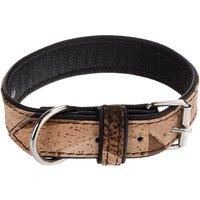 Heim Cork & Leather Tiger Dog Collar - Size 40