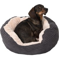 Rosewood Jumbo Pet Bed - Grey - 63 x 53 x 15 cm (L x W x H)
