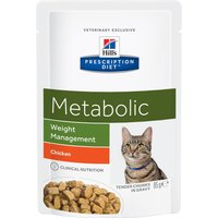 Hills Prescription Diet Feline Metabolic - Saver Pack: 24 x 85g