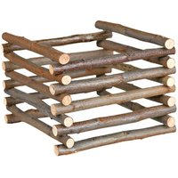 Natural Living Hay Rack - 15 x 15 x 11 cm (L x W x H)