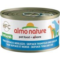 Almo Nature Classic 6 x 95 g - boeuf & jambon