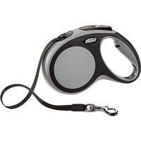 flexi New Comfort Tape Lead Medium - 5m - Grey