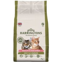 Harringtons Complete Cat Salmon with Rice - 2kg