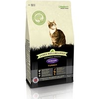 James Wellbeloved Senior 7+ Cat - Turkey - Economy Pack: 2 x 4kg