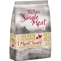 Purizon Single Meat Adult Dog - Grain-Free Chicken with Pumpkin - Economy Pack: 2 x 12kg