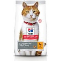 Hill's Young Adult Sterilised con pollo pienso para gatos - 2 x 15 kg - Pack Ahorro