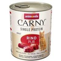 Animonda Carny Single Protein Adult 6 x 800 g para gatos - Vacuno puro