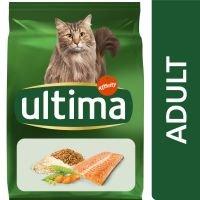 Ultima Adult con salmón para gatos - 7,5 kg