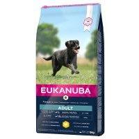 Eukanuba Active Adult razas grandes con pollo - 15 kg - Megapack