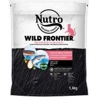 1,4 kg Nutro Trockenfutter + 12 x 85 g Perfect Fit Mixpack zum Sonderpreis! - Wild Frontier Katze Adult Lachs und Weißfisch
