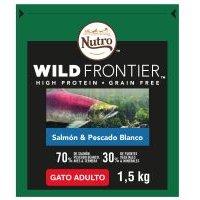 Nutro Wild Frontier Adult Salmón y pescado blanco para gatos - 4 kg
