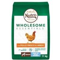 Nutro Wholesome Essentials Adult Pollo y arroz para perros grandes - 11 kg