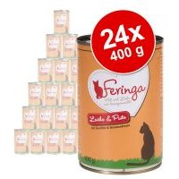 Feringa Classic Meat Menu 24 x 400 g - Pack Ahorro  - Vacuno y ave