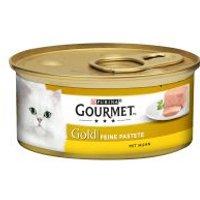 10 + 2 gratis! 12 x 85 g Gourmet Gold  - Schmelzender Kern: Thunfisch