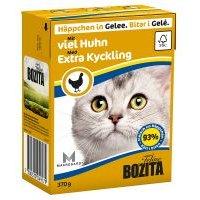 Bozita Trocitos en gelatina 6 x 370 g - Rico en pollo