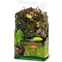 JR Grainless Mix para conejos enanos - 2 x 1,7 kg - Pack Ahorro