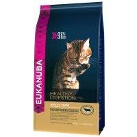 Eukanuba Healthy Digestion Adult para gatos - 2 x 4 kg - Pack Ahorro
