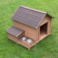 Caseta Sylvan Confort para perros - Tamaño L: 104 x 91 x 81 cm (An x L x Al)