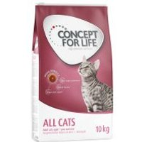10 kg / 9 kg Concept for Life zum Sonderpreis! - NEU: Sterilised Cats Lachs 10 kg