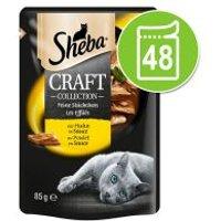 Sheba Craft Collection 48 x 85 g - Megapack - Selección de pescados en salsa