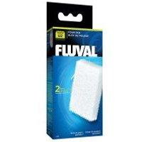 Fluval material filtrante de esponja - 2 cartuchos de esponja para U2
