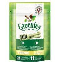 Greenies snacks para el cuidado dental - Pack Ahorro - Teenie 3 x 85 g (33 uds.)