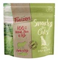 Purizon snacks de cordero y pescado para gatos - 40 g