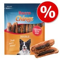 Rocco Chings Double - Pack Ahorro - Pollo con vacuno 4 x 200 g