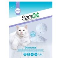 Sanicat Diamonds arena de sílice para gatos - 5 x 5 l