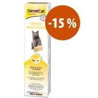 GimCat pasta de queso con biotina para gatos ¡a precio especial! - 200 g