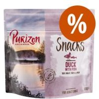 Purizon snacks para perros 100 g ¡con descuento! - Cordero y pescado